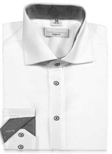koszula biała długi rękaw, koszula klasyczna, sklep z koszulami męskimi poznań, koszula do garnituru, tania koszula męska poznań