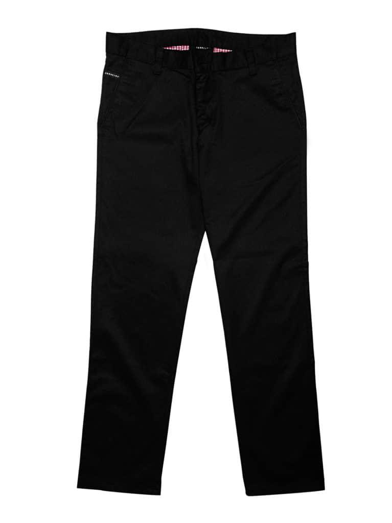 spodnie chinosy czarne, idealne spodnie do marynarki